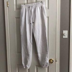 Talentless White Sweatpants